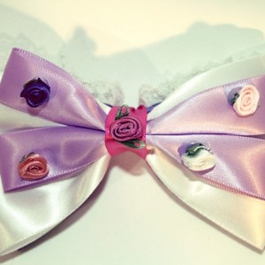 Tangled Inspired Bow