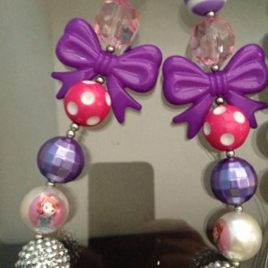 Sofia the First Chunky necklace