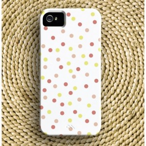 Confetti Barely-There iPhone Case + Optional Monogram