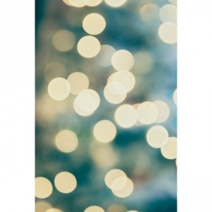 Blue and Yellow Bokeh Lights - 8x10 photograph - Bokeh Photo - fine art print - dreamy photography - surreal whimsical art