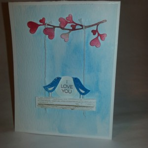 I Love You (Set of two cards)