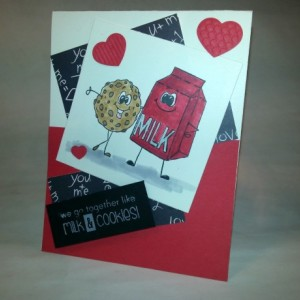We Go Together (set of two cards)