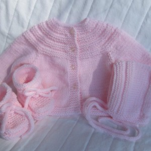 Baby Sweater Set