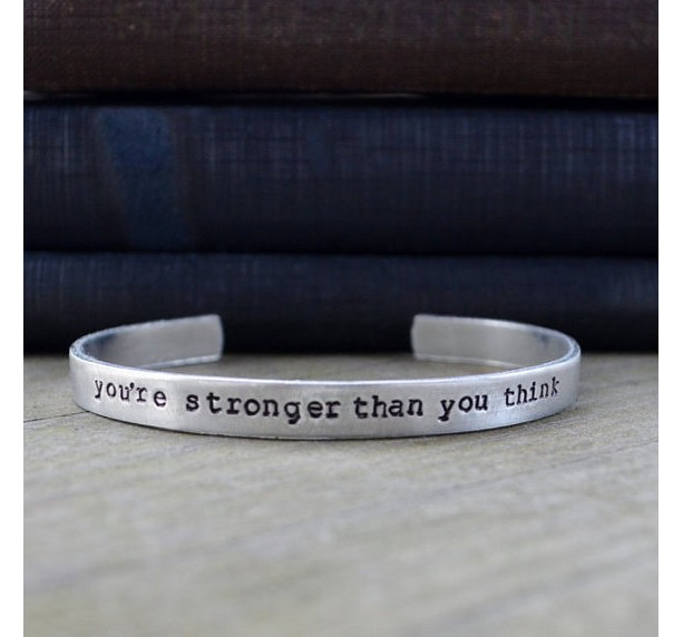 You're Stronger Than You Think Cuff