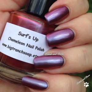 Chameleon Nail Polish - Color Shifting Nail Polish/Lacquer - SURF'S UP - Regular Full Sized Bottle (15 ml size)