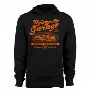 "Men's Fast and Furious ""Tej's Garage"" Hoodie"