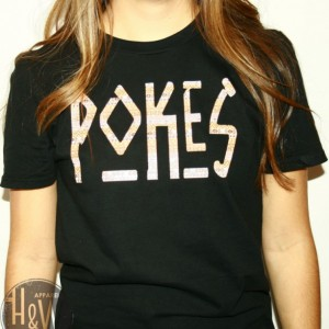 Oklahoma State Cowboys POKES Tribal Print T-Shirt OSU
