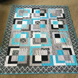 Custom TWIN SIZE Out of the Box Quilt