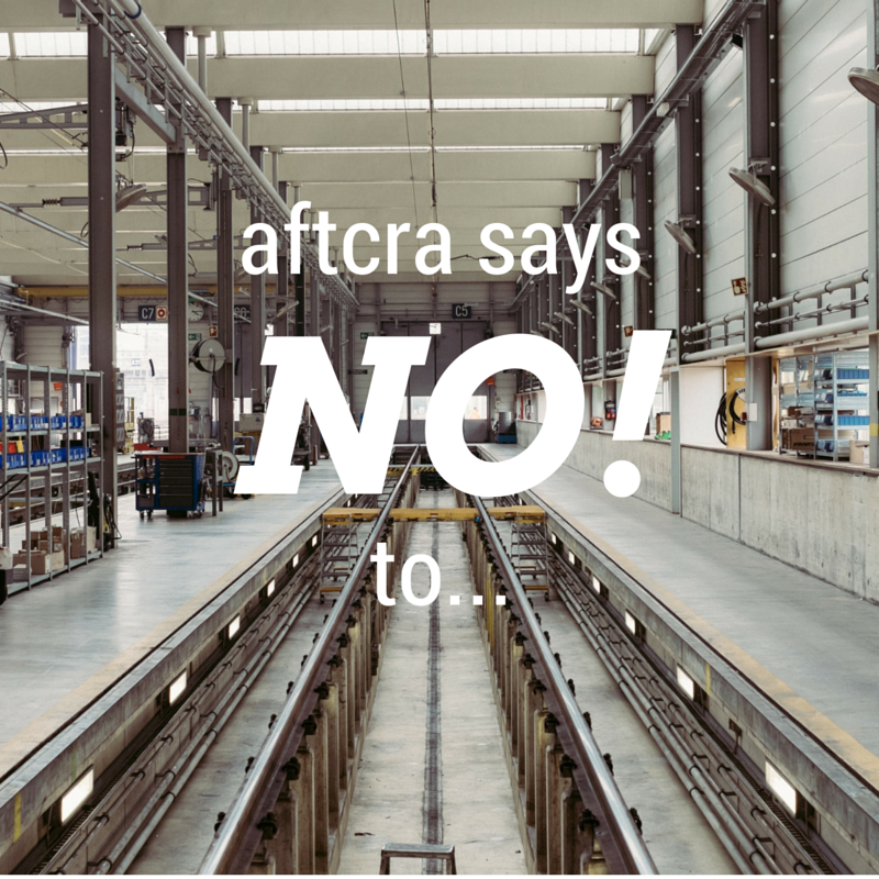aftcra says No!