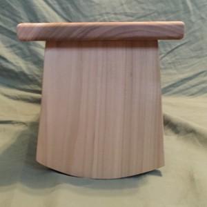 Handmade Meditation bench - Poplar with folding legs *FREE SHIPPING*
