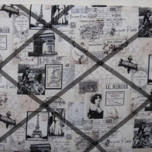 Vintage Fabric Bulletin Boards