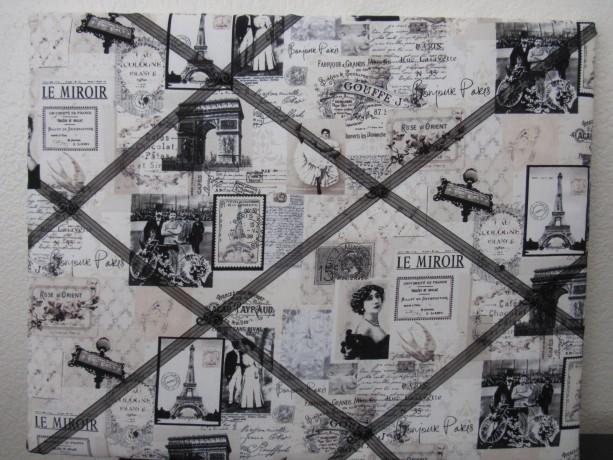 Vintage Fabric Bulletin Boards