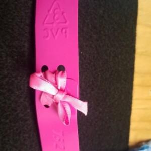 Pink Tie Bracelet