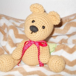 Custom Crocheted Teddy Bear