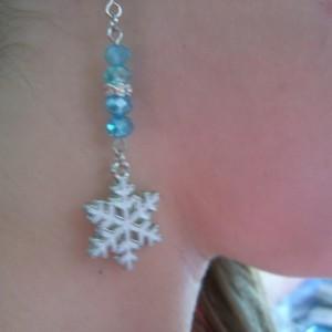 SOLD!!!   Elsa Ice Earrings