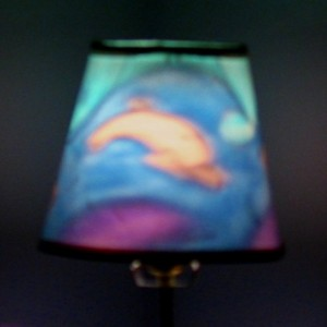 Hand-Painted Dolphin Mood-Light Bulb