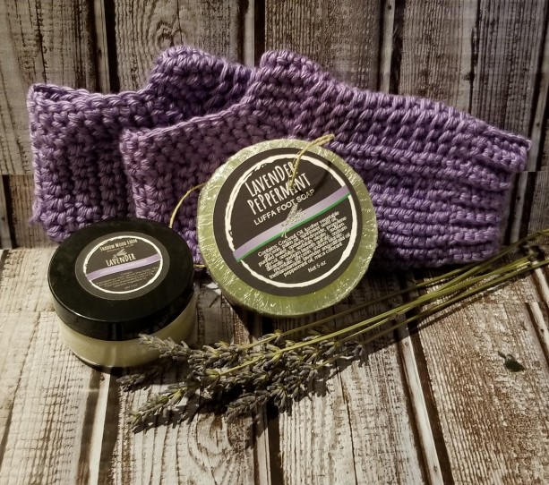 Lavender Peppermint Pedicure Gift Set