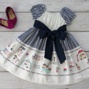 SUSAN- Girl Farmer Market Dress