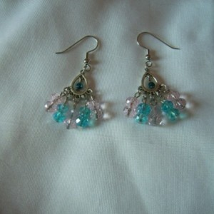 Peacock Fan Earrings