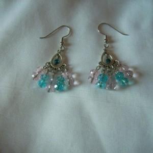 Peacock Fan Earrings