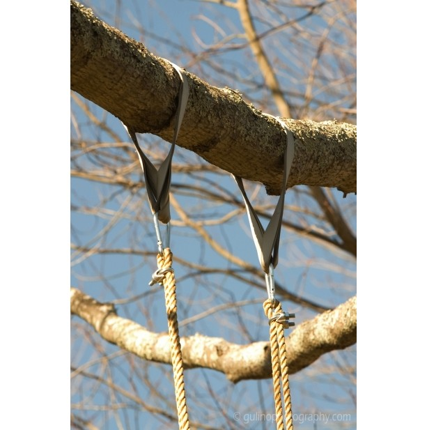 Thirty six inches long tree swing hanging kit aftcra Wood tree swing and hanging kit