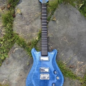 SOLD     Anu Nesku Electric Guitar  (Order one like this)