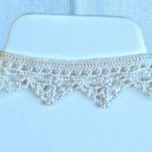 "NeckLACE in Ecru White (17"")"