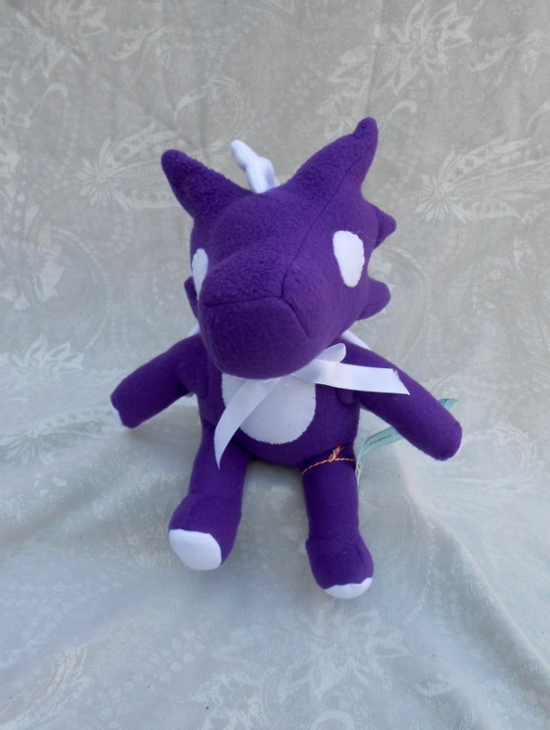 Purple and White Small Dragon