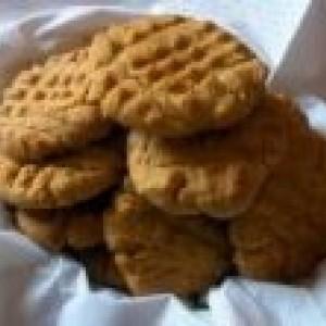 LOW CARB Peanut Butter Cookies NO Flour