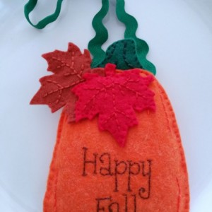 Happy Fall Door/Wall Hanging Decoration