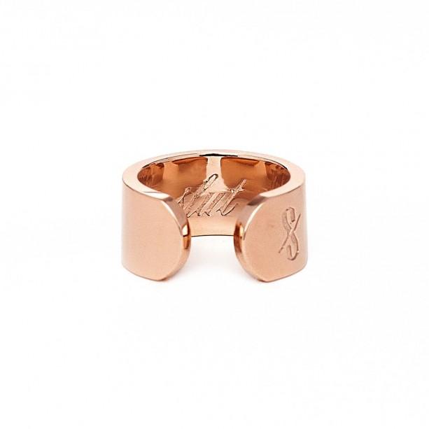 THE SLUT RING: SOLID 18K ROSE GOLD