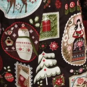 Christmas Peasant Dress