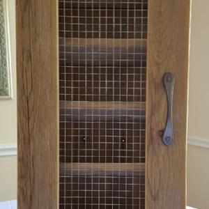 Wine Cabinet, Rustic Wine Storage, Handcrafted Wine Cabinet, Wine Rack
