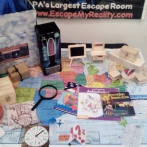 A Gender Reveal Mystery - A Mini Escape My Reality Home Edition Game