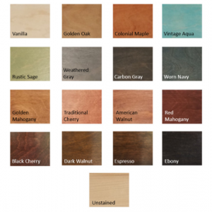 Color Samples, Free with Purchase