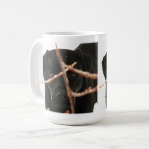 Black Lab Mug 10PB- Labrador Mug - Black Lab Gifts - Labrador Gifts - Lab Dog - Lab Mom - Labrador Retriever - Black Dog Art - Black Lab Art