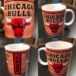 Custom Made Chicago Bulls 11oz Coffee Mug