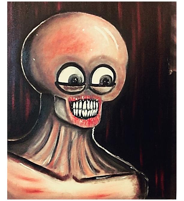 """Oculi"" Original Oil Painting"