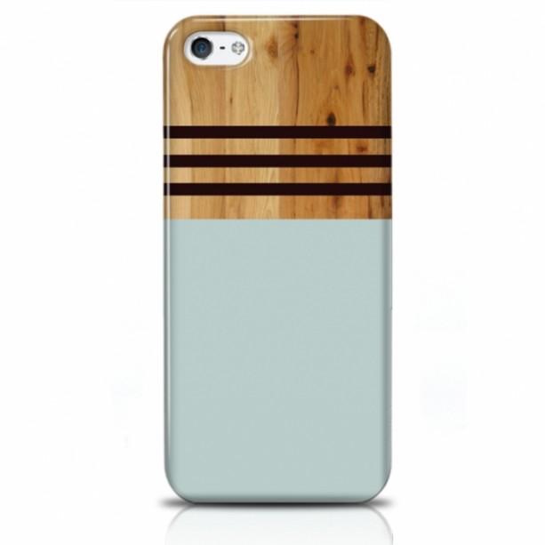 Wood Stripe iPhone Case