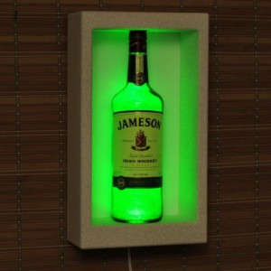 Jameson  Irish Whiskey Wall Mount Sconce Liquor Bottle Lamp Accent Light Bar Man Cave Lighting Fathers Day