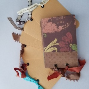 Unique Handmade Mini Journal