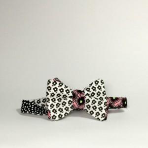 Reversible bow tie Self tie bow tie Reversible bowtie for men Magnet bow tie Magnet bowtie Freestyle tie Handmade tie for men