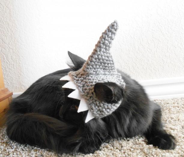 Cat Shark Hat Costume