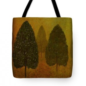 September Trees Tote Bag