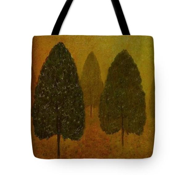September Trees Tote Bag