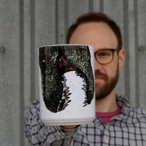 Dinosaur Snout Mug, T-Rex