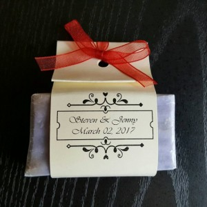 100 mini wedding favor soaps, wedding favors, wedding soap, soap favors, favor soap, baby shower favors, shower favors