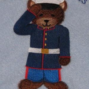 Military Fleece Baby Blanket
