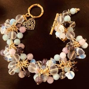 """Balance"" Cluster Gemstone Crystals Bravo"