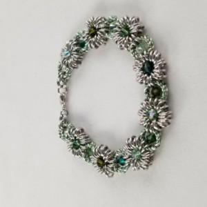 Dahlia with a Twist Bracelet